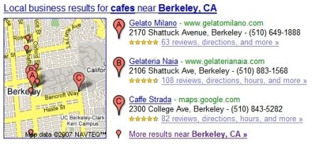 Berkeley Cafes