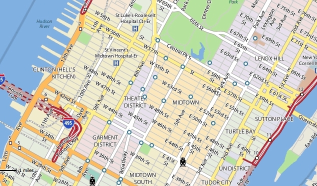 Yahoo! Maps Makeover | Screenwerk