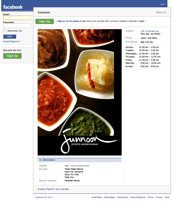 Facebook ads and local business screenwerk its at this level local that these branded pages make sense and will work for everyone by associating myself with a local business in this case a forumfinder Images