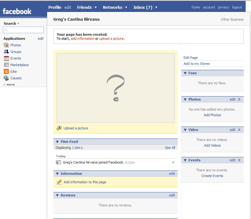 Building local business pages on facebook screenwerk step 3 wajeb Choice Image