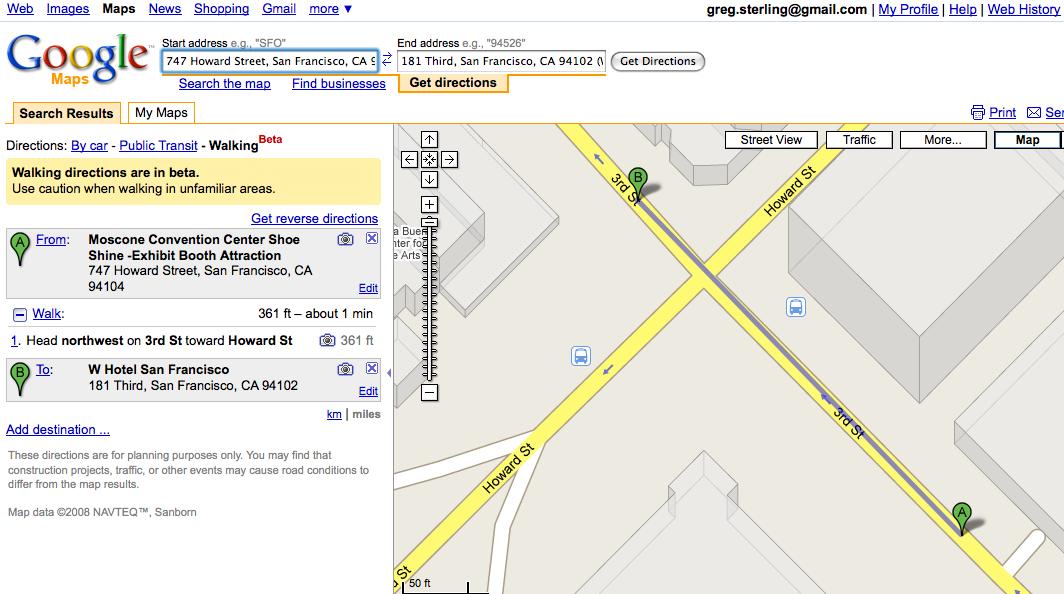 Maps News: UMI, Microsoft, Google   Screenwerk
