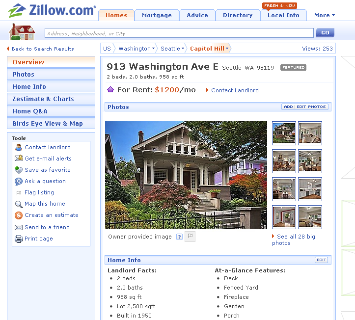 Zillow Rental Houses: Zillow Adds Rentals, Payments Search