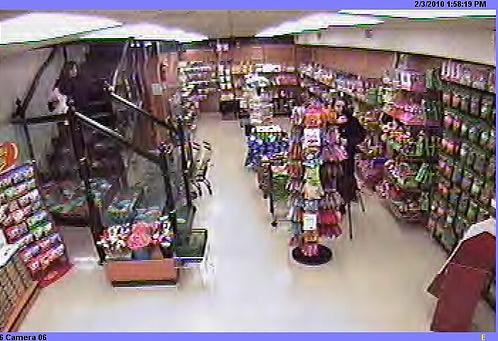 target store interior. the store interior.